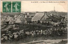 6EF 1O11 CPA - ILE DE BATZ - LE PHARE ET LE MOULIN - Ile-de-Batz