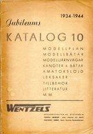 Catalogue WENTZELS Katalog 10 Jubileums 1934-1944 - Cover Missing - En Suédois - Livres Et Magazines