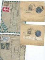 ARGENTINE - 4 Lettres Dont 2 Entiers Bandes Pour Imprimés. - Argentina