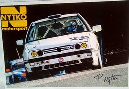 P Nytko  ( Nytko Motorsport) - Authographs