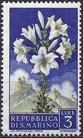 San Marino 1957 - Mi 569 - YT 429 ( Flowers : Lys ) MNH** - Saint-Marin