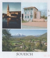 SOUEICH 31 HAUTE GARONNE - VUE DU VILLAGE, EGLISE, MAIRIE - PAP ENTIER POSTAL A VOYAGE EN 2010, VOIR LES SCANNERS - Holidays & Tourism