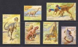 Australia 2013 Dinosaurs Set Of 6 MNH - 2010-... Elizabeth II