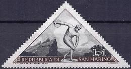 San Marino 1953 - Mi 493 - YT 365 ( Sport : Discus Throw ) MNH** - Saint-Marin
