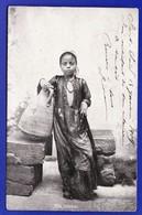 EGYPTE Fille FELLAHIN 1909 ( Infimes Usure Angles Tres Tres Bone Tenue) --658 - Egypt