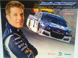 Jamie McMurray Signed Photo Card And Signed Official Envelope - Authographs