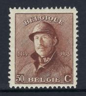 BELGIUM 1919 ALBERT I ROI CASQUE  Nº 174 - 1919-1920 Trench Helmet