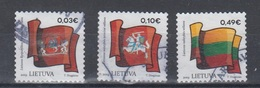 Lithuania 2019 Mi 1302-5 Used State Symbols - Lithuania