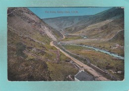 Small Post Card Of The Pass,Sulby Glen,Isle Of Man,V95. - Isle Of Man