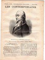 Hebdomadaire Les Contemporains N°819-21-06-1908-Armand-louis De Gontaut (1747-1793 ) Duc De Lauzun, Duc De Biron, Généra - Newspapers