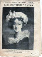 Hebdomadaire Les Contemporains N°439-06-10-1901-Élisabeth Vigée-Lebrun,peintre Français ( 1755-1842 ) - Newspapers