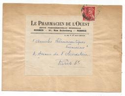 MERCURE 30C POSTES SEUL  BANDE COMPLETE PARIS 1944 AU TARIF - 1938-42 Mercure