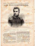 Hebdomadaire Les Contemporains N°756-07-04-1907-claude-François De Mallet,général Français ( 1754-1812 ) - Newspapers