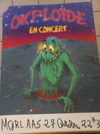 Affiches  - OKPLOIDE En Concert à Morlaas. - Manifesti & Poster