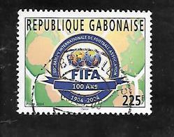 TIMBRE OBLITERE DU GABON DE 2004 N° MICHEL 1672 - Gabon