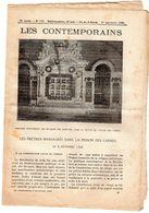 Hebdomadaire Les Contemporains N°777-01-09-1907-les Prêtres Massacrés Dans La Prison Des Carmes Le 2 Septembre 1792 - - Newspapers