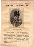 Hebdomadaire Les Contemporains N°776-25-08-1907-le Marquis De La Rouerie. - Newspapers