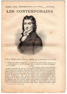 Hebdomadaire Les Contemporains N°757-14-04-1907-Camille Desmoulins,publiciste,membre De La Convention ( 1760-1794 ) - Newspapers