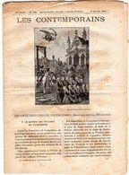 Hebdomadaire Les Contemporains N°743-06-01-1907-les Onze Ursulines De Valenciennes, Martyres Sous La Révolution - Newspapers