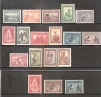 Ruanda-Urundi - 92/106 + 111/113 - 2 Séries Complètes - X/MH - 1924-44: Neufs