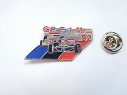 Beau Pin's , Auto F1 , Formule 1 , GP De Magny Cours 1992 - F1