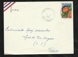 Polynésie Lettre Par Avion Papeete Le 16/04/1984 Le  N°15  Pour Vic De Bigorre    B/TB - Covers & Documents