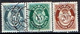 NORWAY # FROM 1950 STAMPWORLD 369-71 - Used Stamps