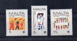 Malta - 1979 - Anno Del Fanciullo - 3 Valori - Nuovi - Vedi Foto - (FDC15607) - Malta