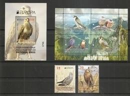 MACEDONIA NORTH,MAZEDONIEN, 2019, EUROPA CEPT,BIRDS,VOGEL,,BOOKLET,BLOCK,MNH - 2019