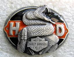 Pin's OFFICIEL HARLEY DAVIDSON SERPENT MOTO MOTARD BIKER - Motos