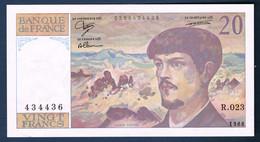 20 FRANCS DEBUSSY Fayette N° 66.9 De 1988 N° R.023 434436 état TTB Sans Fil - 1962-1997 ''Francs''