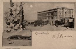 Gruss Aus Constantinople - 1899 !!! - Turkey Turquie - TP + Cachets + Oblitérations !! - Turkey