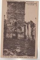 Cpsm 88 Corcieux La Tour De L'Eglise Après Le Sinistre 15-11-44 - Corcieux