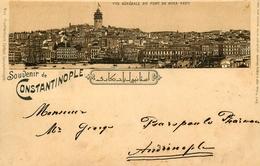 Gruss Aus Constantinople - 1898 !!! - Turkey Turquie - TP + Cachets + Oblitérations !! - Turkey