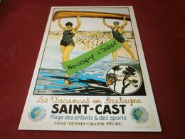 Cartes Postales > Thèmes > Publicité Saint-cast - Advertising