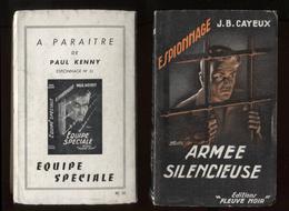 Espionnage Fleuve Noir 30 JB Cayeux Armée Silencieuse 1953 Port Fr 3,44 € - Old (before 1960)