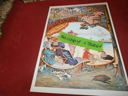 Cartes Postales > Thèmes > Publicité Arcachon - Advertising