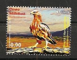 BOSNIA AND HERZEGOVINA  2017,BH,POST SARAJEVO,BIRDS,EAGLE,AQUILA POMARINA,MNH - Bosnia And Herzegovina