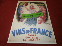 Cartes Postales > Thèmes > Publicité Vins De France - Advertising