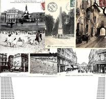 Lot De 500 Cartes Postales Anciennes En Bon état Avec Des Animées. - Postcards