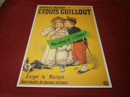 Cartes Postales > Thèmes > Publicité Nouveau Dessert Exquis Guillout - Advertising