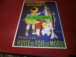 Cartes Postales > Thèmes > Publicité Huile De Foie De Morue - Advertising