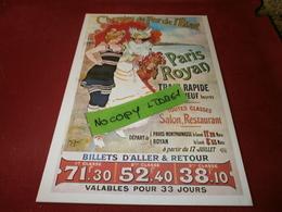 Cartes Postales > Thèmes > Publicité Chemins De Fer De L'etat - Advertising