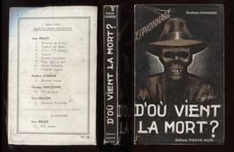 Espionnage Fleuve Noir 12 Graham Livandert D'où Vient La Mort? 1951 Port Fr 3,44 € - Anciens (avant 1960)
