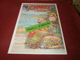 Cartes Postales > Thèmes > Publicité Cannes L'hiver - Advertising