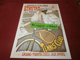 Cartes Postales > Thèmes > Publicité Les Chemins De Fer L'ouest Etretat - Advertising
