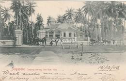 Singapore TANJONG KATONG Sea Side Villa Post Used 1906  Sg399 - Singapore