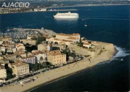 AJACCIO  Entrée Du Port   1   (scan Recto-verso)MA1930Bis - Ajaccio