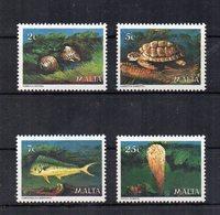 Malta - 1979 - Fauna Marina - 4 Valori - Nuovi - Vedi Foto - (FDC15608) - Malta