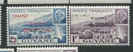 ININI  N°  57/58 **  TB  4 - Inini (1932-1947)